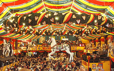 Reservierungen auf der Wiesn in München - Munich Oktoberfest Booking and Reservations